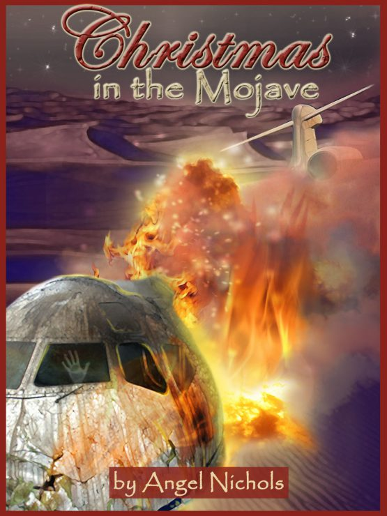 The cover art for Christmas in the Mojave was also created by me!