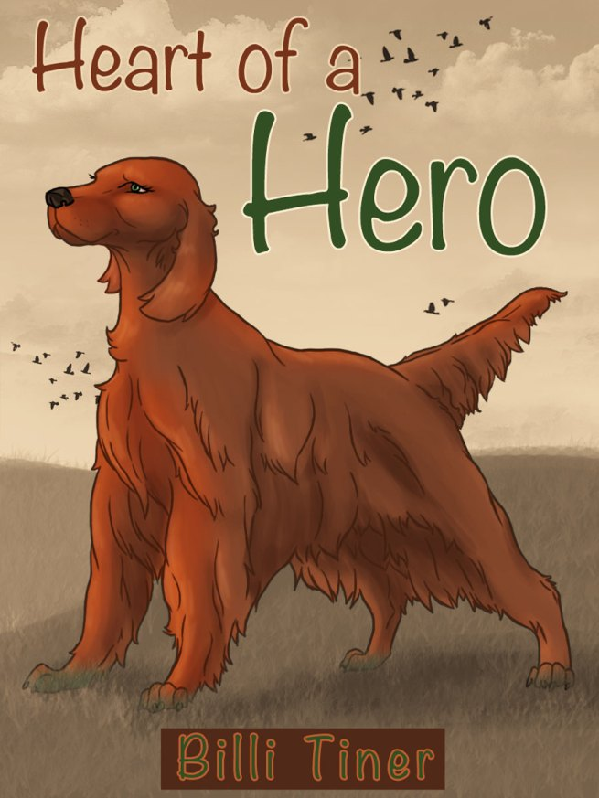 Heart of a Hero - commissioned by Billi Tiner.